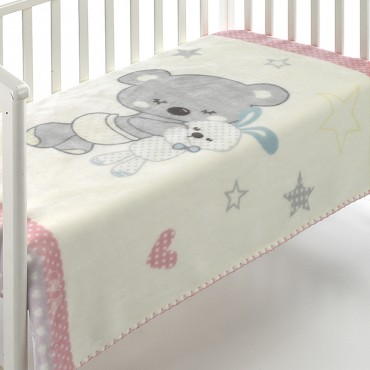 Manta Infantil KIDZ C74 Textils Mora