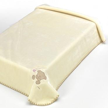 Manta Infantil BABY LUZ Textils Mora beige