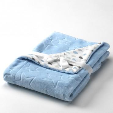 Manta Infantil BABY GALAXY Textils Mora azul