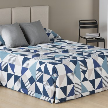 Edredón Confort EVOL Sansa Print azul