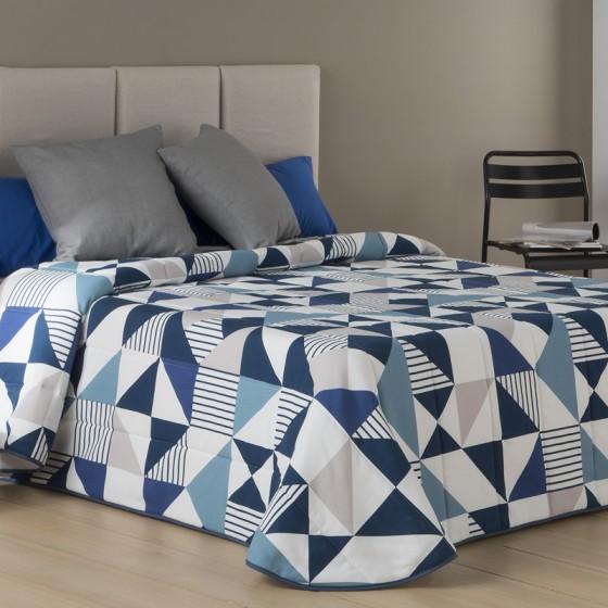 Colcha Bouti EVOL Sansa Print azul