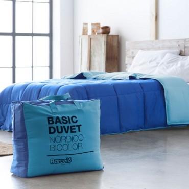 Duvet BASIC Barceló Hogar azul