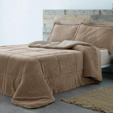 Edredón Conforter Sherpa BASIC beige Barceló Hogar