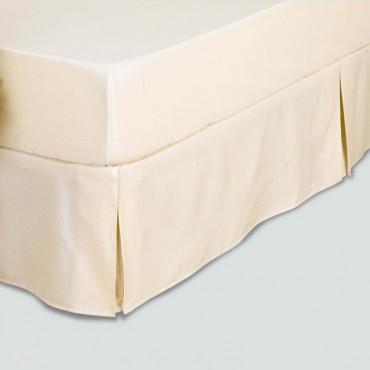 Cubre Canapé Rústico VELCRO Estela crema