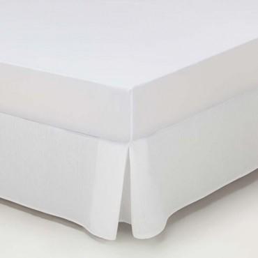 Cubre Canapé Rústico LISO Estela blanco óptico