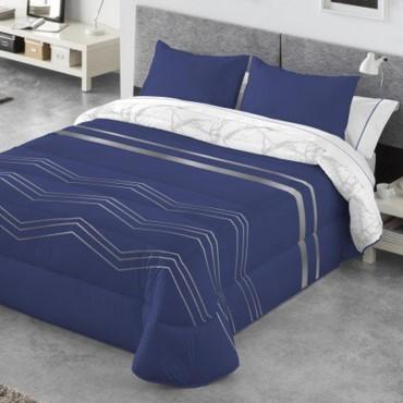 Edredón Comforter reversible Kabely ANELKA Catotex marino anverso