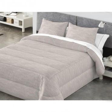 Edredón Comforter Reversible Kabely COLBY Catotex beige reverso