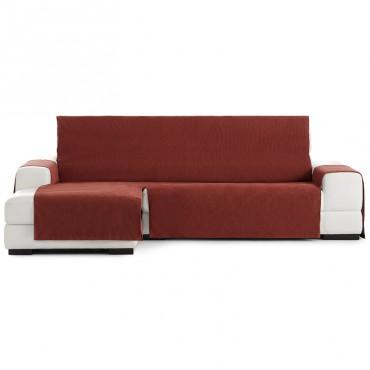Funda Cubre Sofá Chaise Longue LOIRA PROTECT Eysa rojo