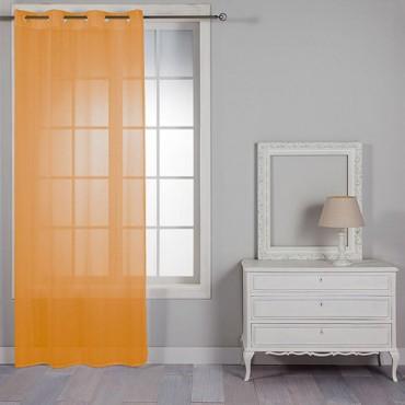 Cortina MADEIRA Barceló Hogar naranja