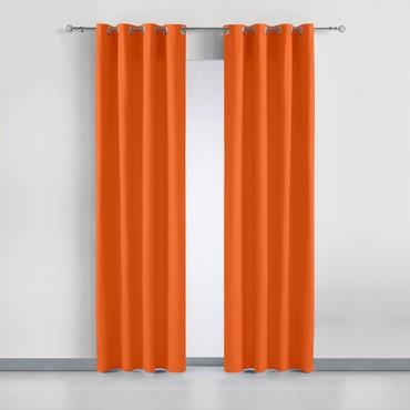 Cortina BASIC LONETA Barceló Hogar naranja