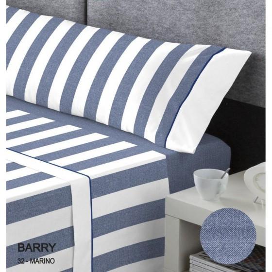 Juego de Sábanas Serena Cotton Luxe BARRY Catotex azul