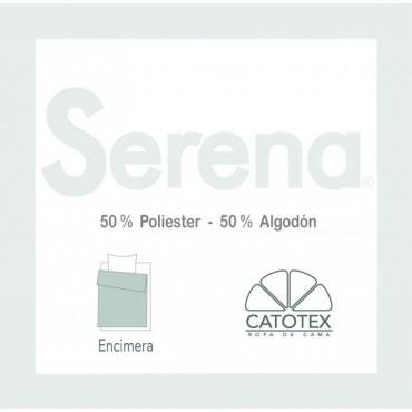 Sábana Encimera Serena 50/50 Catotex blanco
