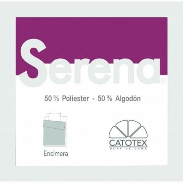 Sábana Encimera Serena 50/50 Catotex burdeos