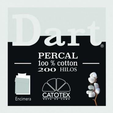 Sábana Encimera DART PERCAL Catotex perla