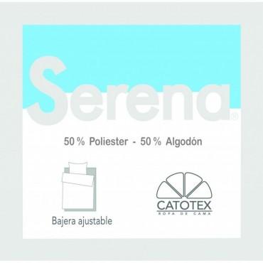 Sábana Bajera SERENA 50/50 Catotex azul