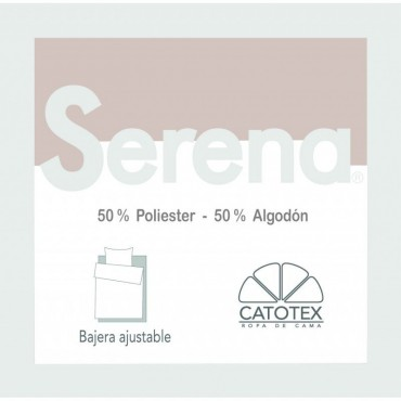 Sábana Bajera SERENA 50/50 Catotex beige