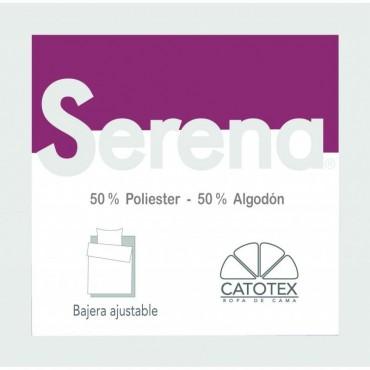 Sábana Bajera SERENA 50/50 Catotex burdeos