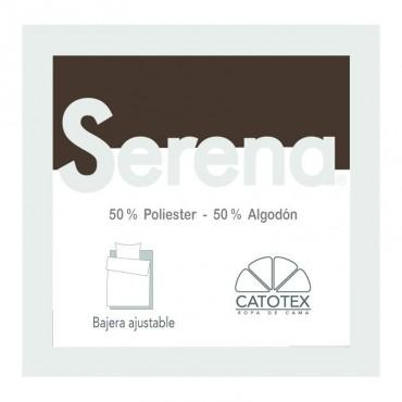 Sábana Bajera SERENA 50/50 Catotex marrón