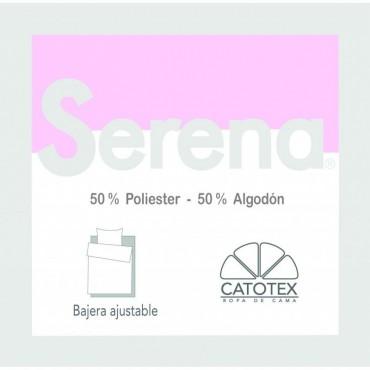 Sábana Bajera SERENA 50/50 Catotex rosa