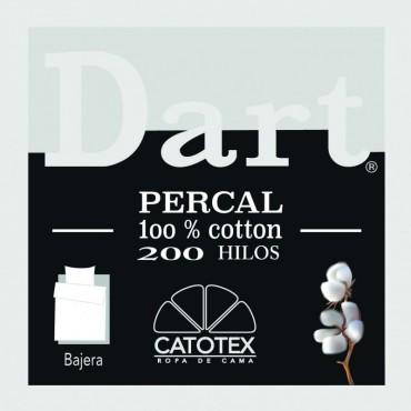 Sábana Bajera DART PERCAL Catotex perla