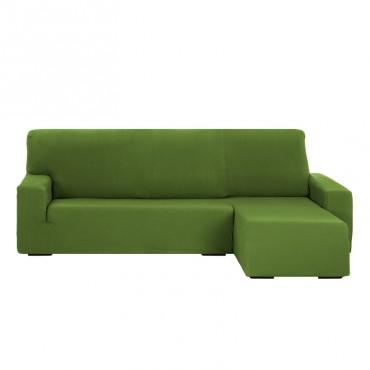 Funda de Sofá Chaise Longue Brazo  Corto TUNEZ Verde