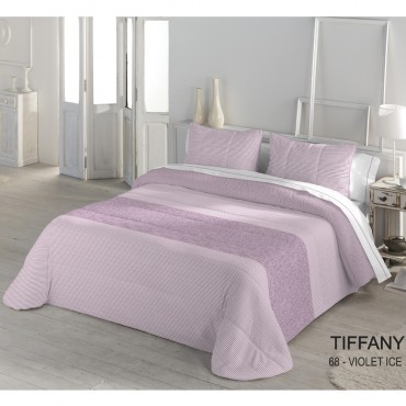 Edredón Comforter Serena Sherpa TIFFANY Catotex Violet Ice