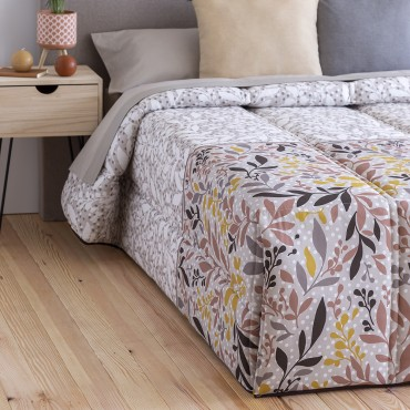 Edredón Confort ROSES Confecciones Paula Beige detalle