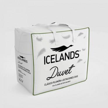 Relleno Nórdico CLÁSICO PLUMÓN 4 ESTACIONES Icelands