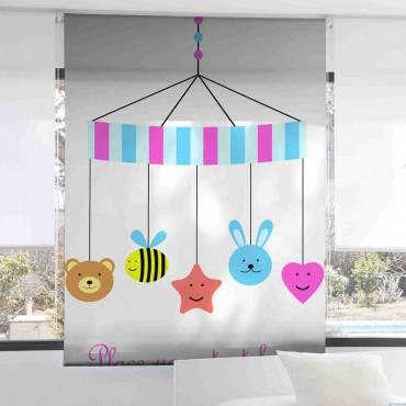 Estor Infantil Digital 1082 Zebra Textil