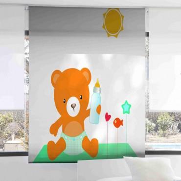 Estor Infantil Digital 1075 Zebra Textil
