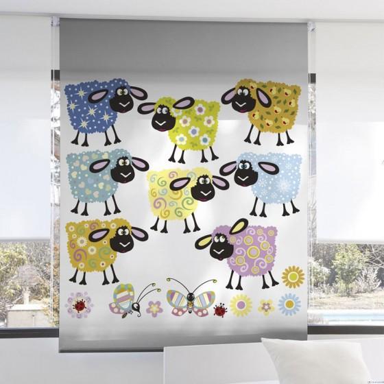 Estor Digital Infantil 3102 Zebra Textil