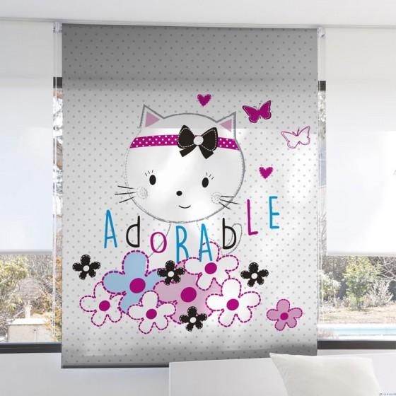 Estor Digital Infantil 3101 Zebra Textil