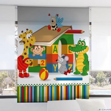 Estor Digital Infantil 3099 Zebra Textil