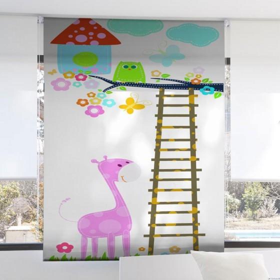 Estor Digital Infantil 1079 Zebra Textil