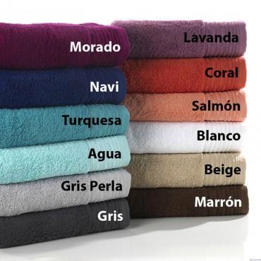 Toalla de Baño LISAS 100% Algodón Textils Mora