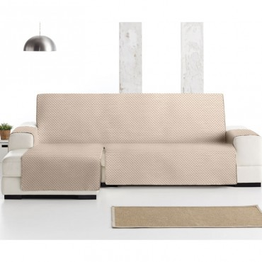 Funda Cubre Sofá Chaise Longue OSLO PROTECT Eysa beige