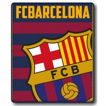 Plaid Coralina ESCUDO FC Barcelona