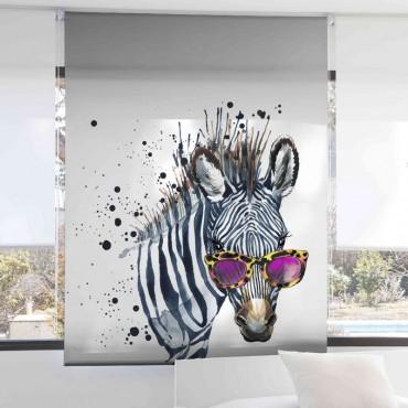 Estor Digital 142 Zebra Textil