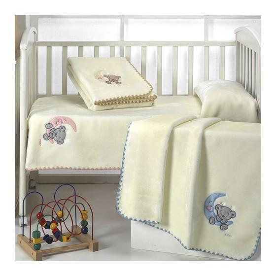 Manta Infantil BABY LUZ D49 Textils Mora