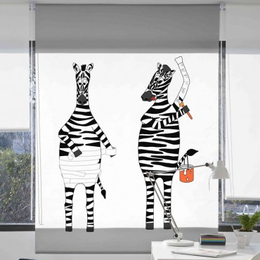 Estor Digital 157 Zebra Textil
