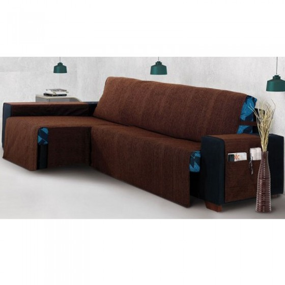 Funda Cubre Sofa de Chaise Longue KIOTO Brazo Largo Drcha