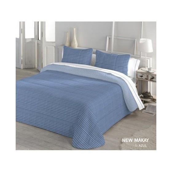 Edredón Comforter Serena Sherpa NEW MAKAY Catotex azul