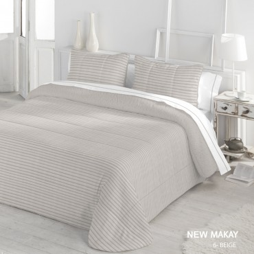 Edredón Comforter Serena Sherpa NEW MAKAY Catotex beige