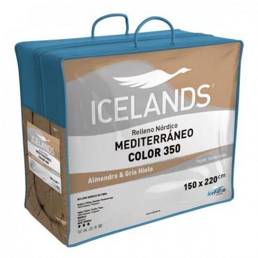 Relleno Nórdico MEDITERRÁNEO COLOR ALMENDRA Icelands