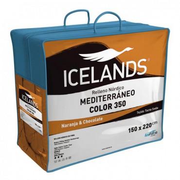 Relleno Nórdico MEDITERRÁNEO COLOR NARANJA Icelands