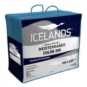 Relleno Nórdico MEDITERRÁNEO COLOR ALUMINIO Icelands