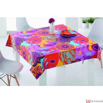 un mantel exclusivo a rayas o cuadros alegre e informal a la vez perfecto para las comidas de domingo