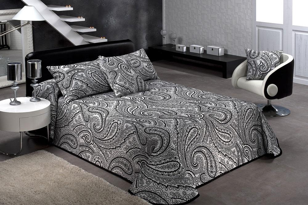 Colchas de cama textils mora colecci n 2013 colchas en - Tela para colchas ...