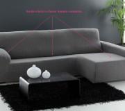 funda elastica para sofá chaise longue