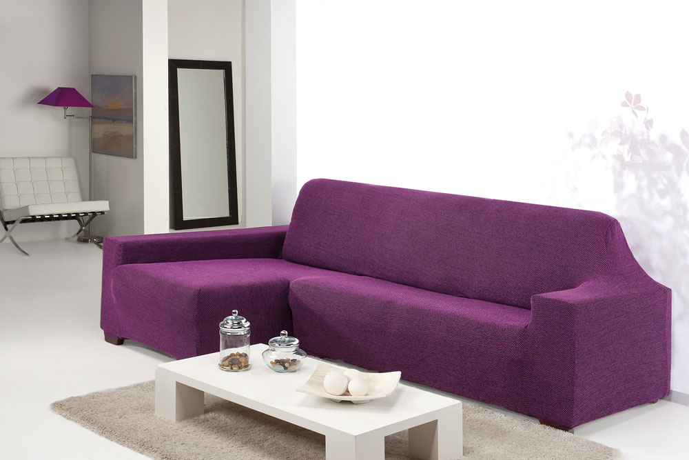 Fundas De Sofa Baratas.Fundas Bielasticas Para Sofa Chaise Longue Sin Costuras